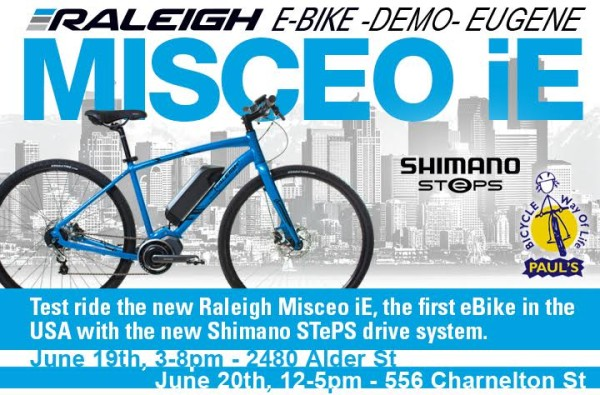 Raleigh EBike Demo 1