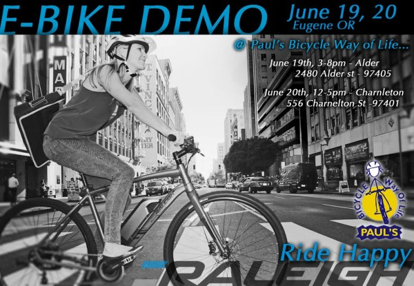 Raleigh EBike Demo 2